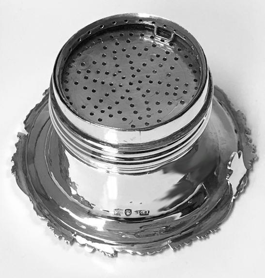 Antique Georgian Silver Wine Funnel, London 1828, John Edward Terry