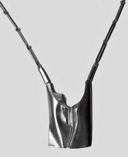 Lapponia Björn Weckström Sterling Necklace Finland 1994. Large version