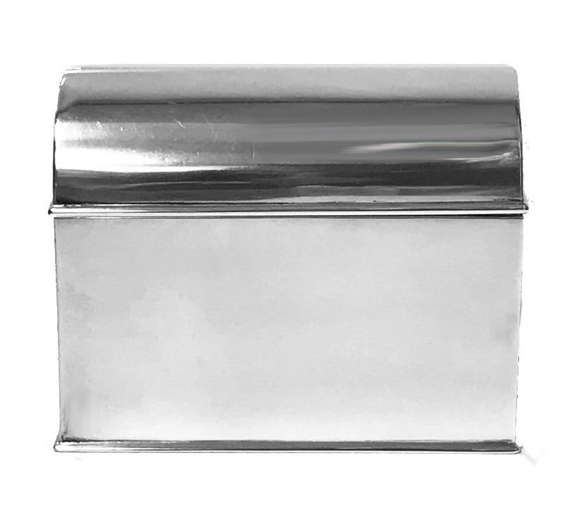 Scottish Sterling Silver large Box, Glasgow 1902, R and W Sorley