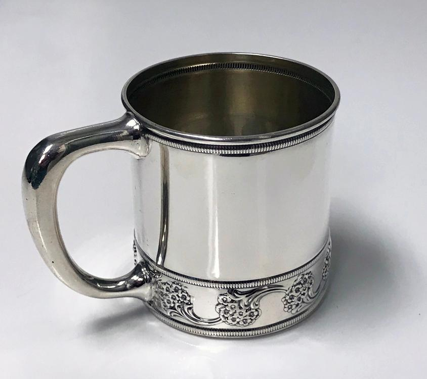 Antique American J.E.Caldwell Sterling Silver Cup, C.1900