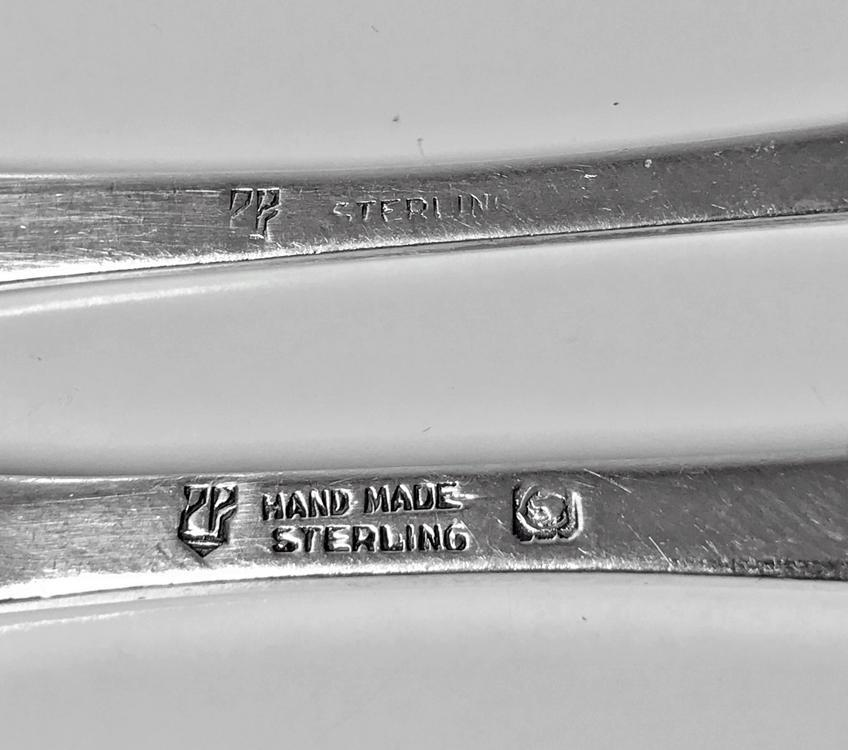 Rare Carl Poul Petersen Seafood Lobster Fork and Lobster Pick Knife