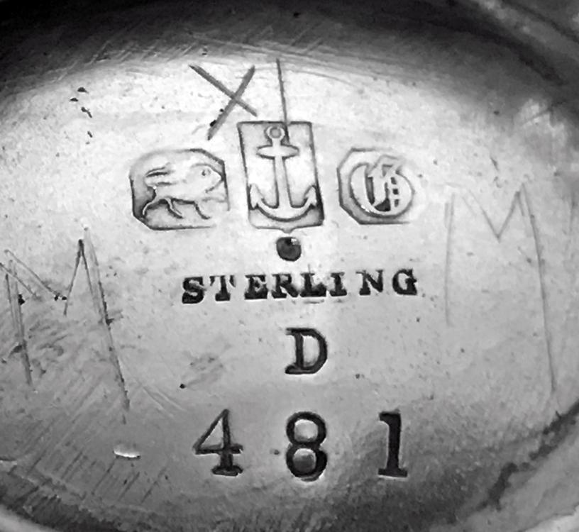 Gorham American Sterling Greek inspired  Basket 1871