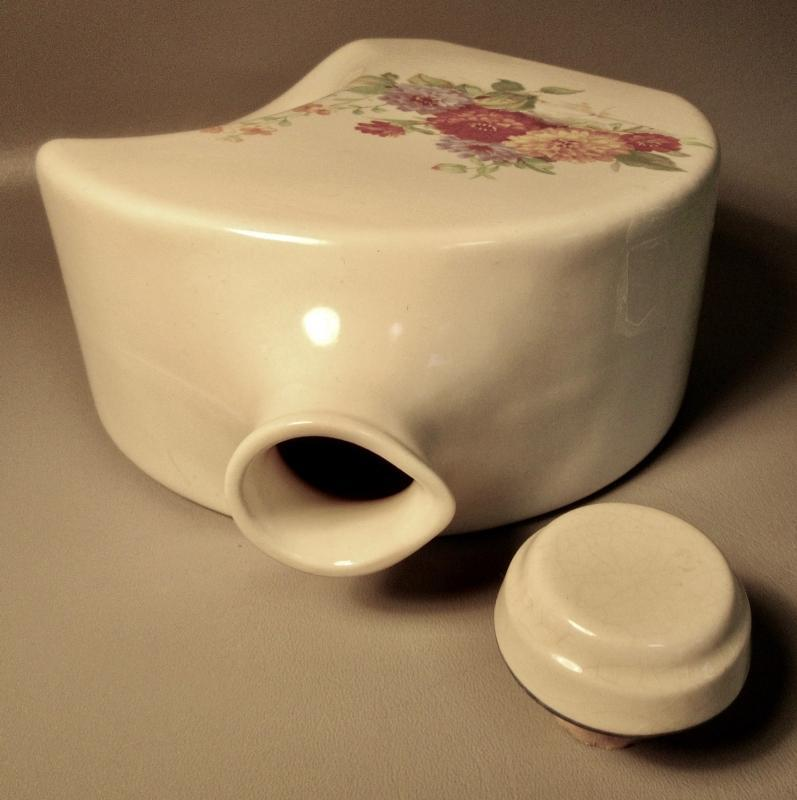 A Classic Retro Refrigerator Water Pitcher w/Stopper c1930 Universal Cambridge Pottery