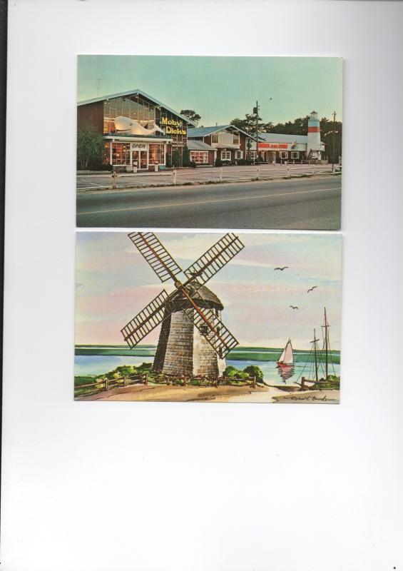 20 Vintage Postcards Cape Cod Unused c1950s Windmill, Restaurants, Beach, Cranberry Bog, Boats, Towns
