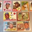 9 Jim Gilliam Baseball Cards Topps & Bowman 1950s And 1960s Brooklyn And LA Dodgers
