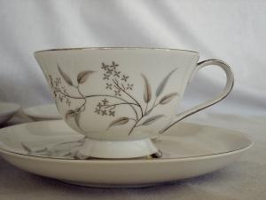 Teacup and Saucer by Seyei/Grace China