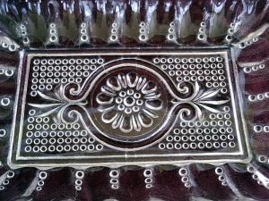 Vintage Pressed Glass Tray