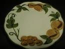 Stangl Hand Painted Sculptured Fruit Pattern Dessert Plate