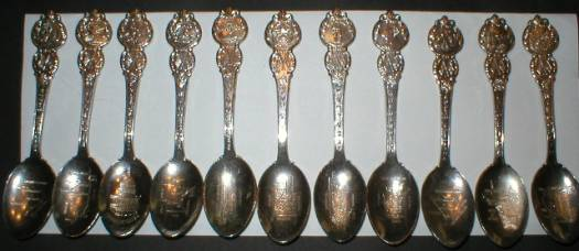 Herritage Collection of American States Spoon