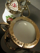 Set of Three Malta Souvenir Porcelain Mini Cups