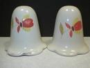Hall China Jewel Tea Autumn Leaf Salt and Pepper Shakers