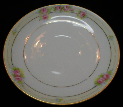 Noritake Hand Painted Roses Saucer - The Lorraine