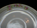 Nippon Noritake Hand Painted Roses Saucer - The Lorraine