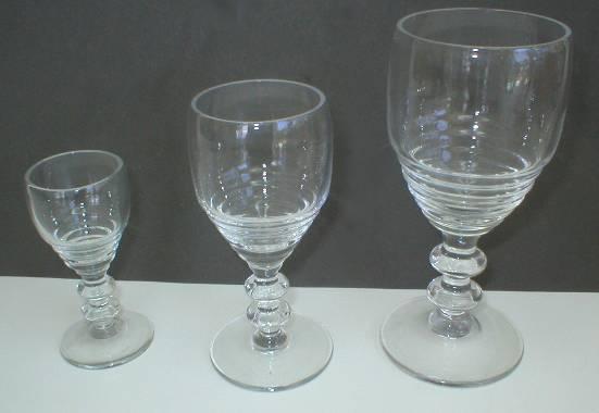 Bryce Brothers Georgian Pattern 5oz Wine Stem