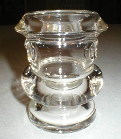 Cute Figural Glass Cigarette Urn