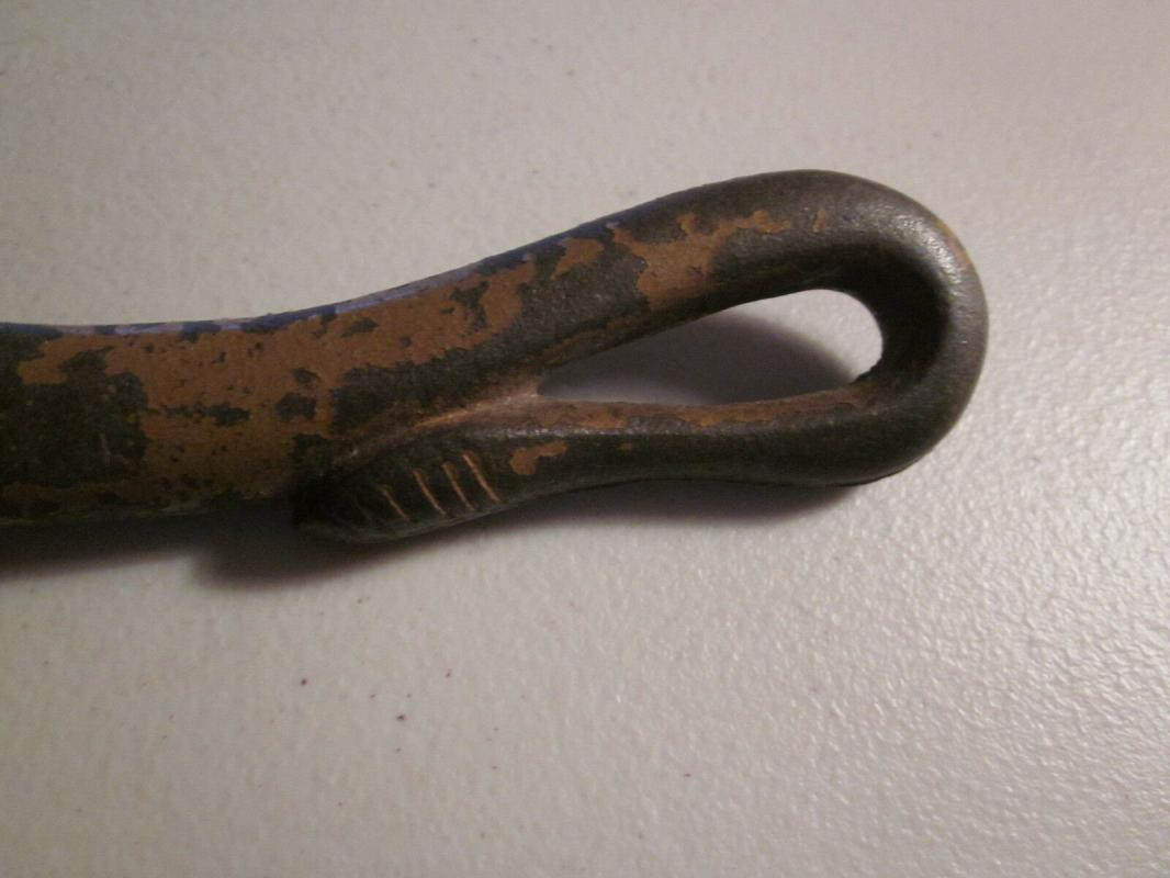 Victorian era Bull Can Opener, traces of original paint