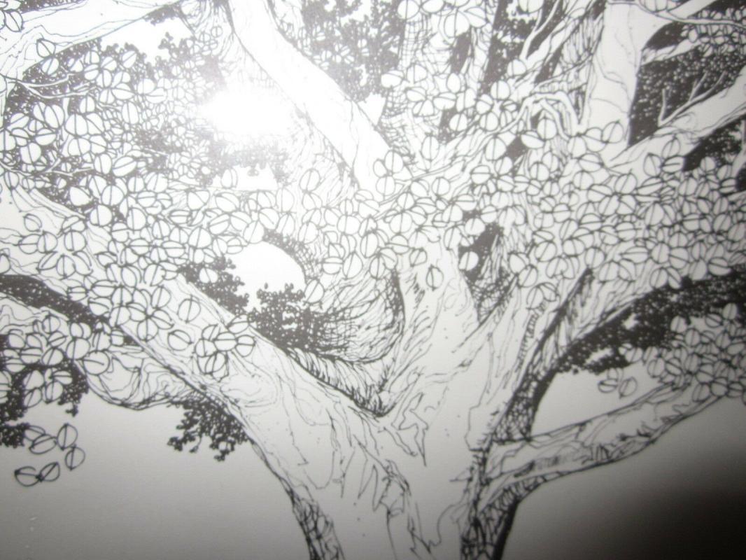 a Fantastic Pen & Ink Print