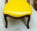 Empire style mahogany chair