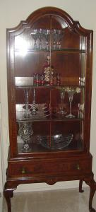 Irish Georgian Display Cabinet