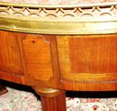 Louis XVI Marble Top Coffee Table