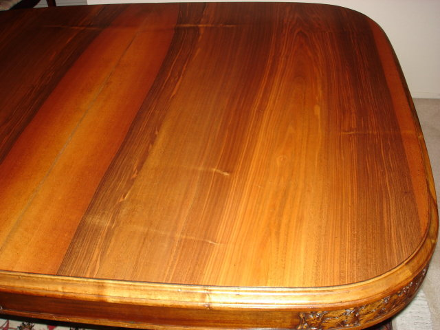 French Art Nouveau walnut Dining Table
