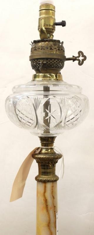 Victorian Oli Lamps