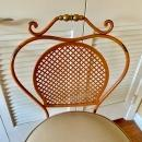 French Wrought Iron Bar Stool