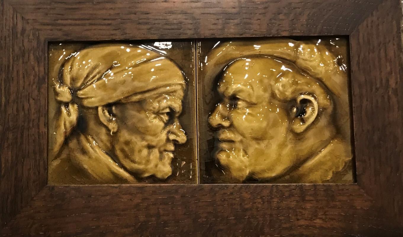 American Encaustic tile Co., Portrait tiles