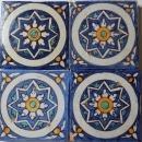 Morrish style antique tiles, Tunesia