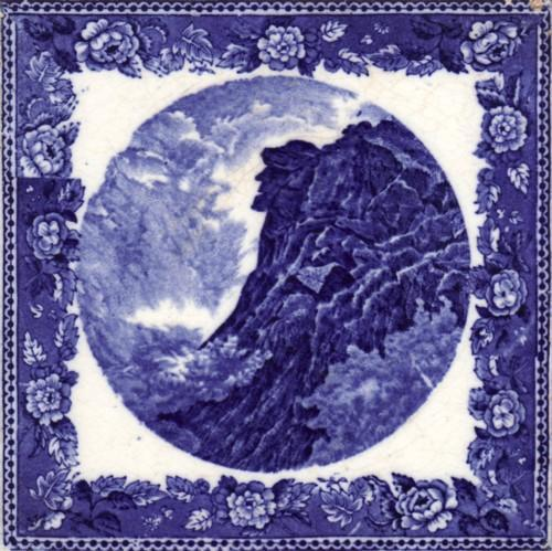 English Transfer Tile Wedgwood Historic Picture Tile