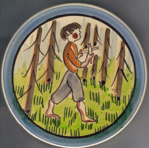 Hand Painted Finland Trivet