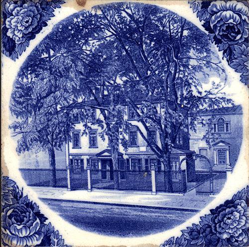 English Historic Tile Wedgwood Maine