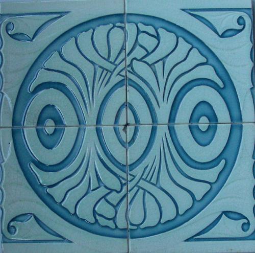Helman  Majolica Tile panel
