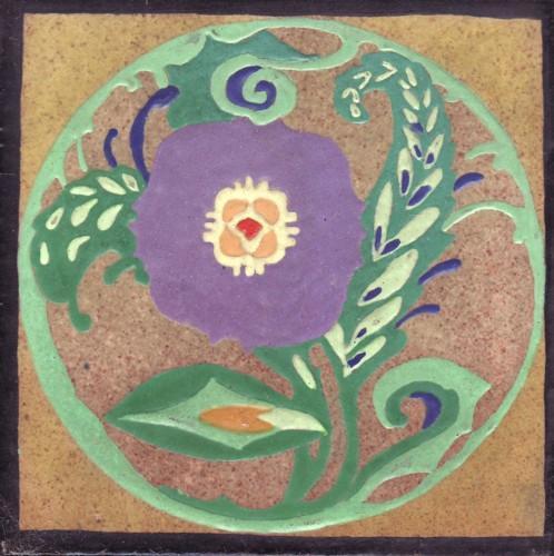 Arts & Crafts Tile by Solon Schemmel