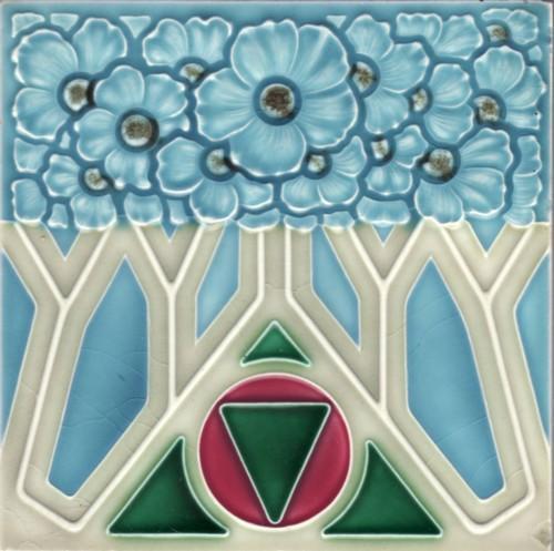 Art Nouveau Tile NSTG