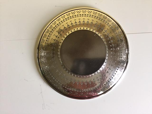 Sheffield Decorative Silver Plated Plate