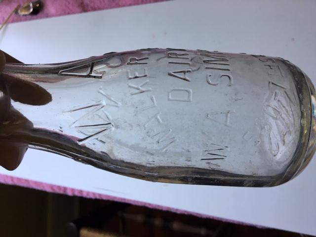 Walker Hill Dairy Bottle