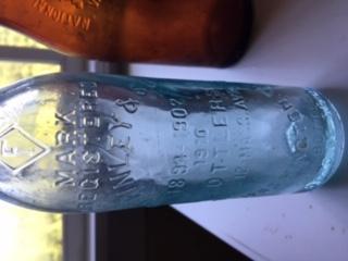 Old D.C. Bottle F.H. Finley & Son Bottle
