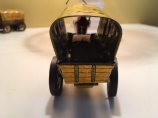 Tin Litho Wagon