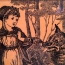 Fireplace Tile - Little Red Riding Hood