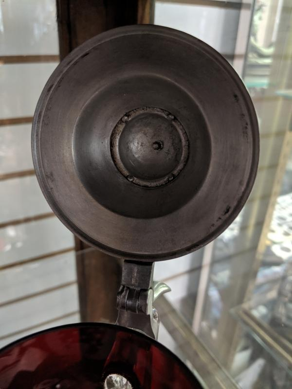 Bohemian glass cut to clear Stein