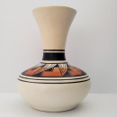 Navajo tribe vase sandstone design by Brown