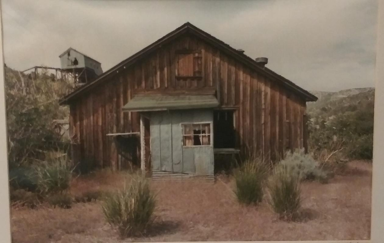 Tom Ferderbar- Ruins- Bellmont Mine Nevada 1985