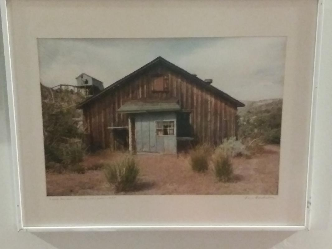 Tom Ferderbar- Ruins- Bellmont Mine Nevada 1985