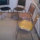 Emeco MCM dining room chair Navy style