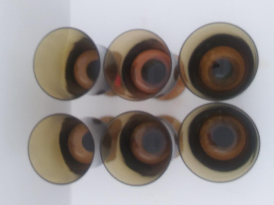 milnor sweden MCM denby mirage cased crystati stemmed glasses