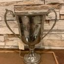 English Silver Plated Trophy Cup, Winner Prize Award, Old Champion Trophy