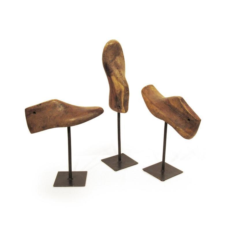 Vintage Wooden Cobbler Shoe Mold