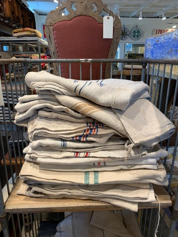 Grain Sack, Vintage style Potato Sack, Old Jute Bag