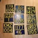 Vintage Railway Sign Boards | Metal Sign Railroad boards |Rustic Wall Decor | Train Track Marker